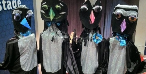 Giant Puppet Dance Club Camp