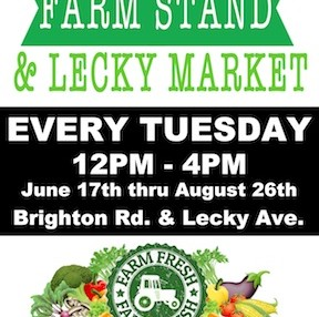 Brighton Farm Stand Opens Tomorrow!