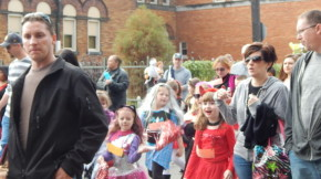 Brighton Heights Halloween Parade 2014