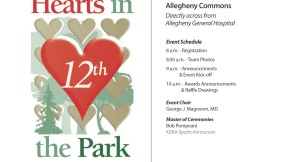Hearts in the Park Walk