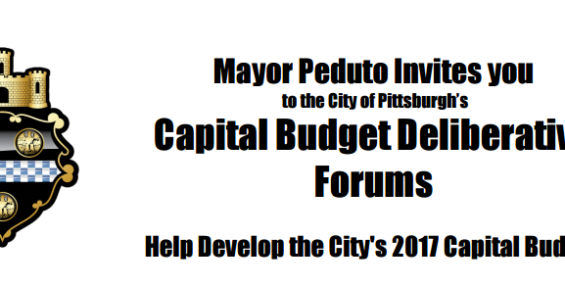City of Pittsburgh – Public Budget Hearings