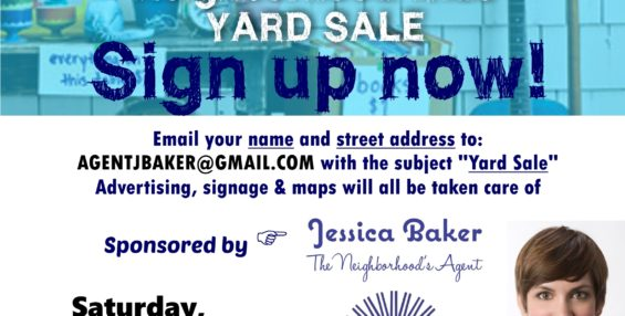 Brighton Heights Neighborhood Wide Yard Sale, Sign up NOW!