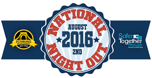 National Night Out – August 2nd