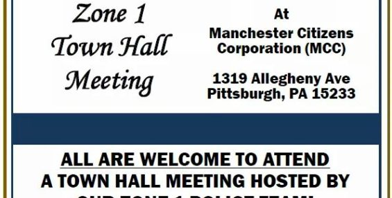 Zone 1 – Town Hall Meeting – Oct 6th