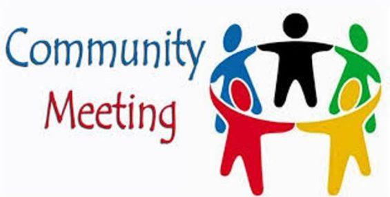 Community Health Strategy Meeting – Wed. Jan 25th