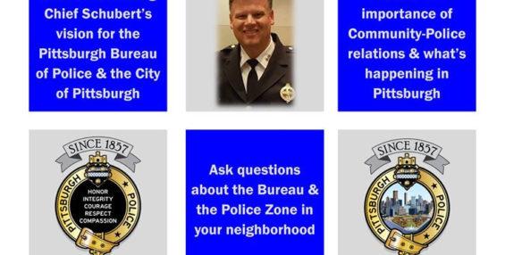 Meet Acting Chief Schubert – TONIGHT at 5:30 PM.